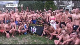Никола Љешковић први до крста у Требињу (19.01.2018.)
