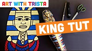 Art With Trista - King Tut - Step By Step