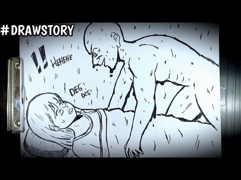Asal Usul Hantu Orang Minyak || DRAWSTORY