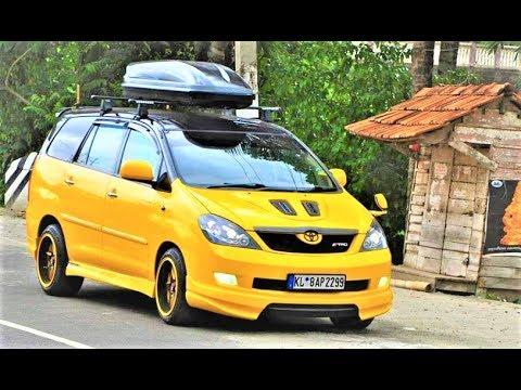 toyota innova modified cars youtube
