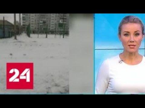 """""""Погода 24"""": первый снег в Красноярском крае - Россия 24"""