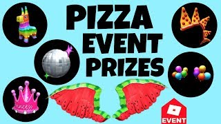 [EVENT] All Roblox Pizza Prizes + Dev/Admin List