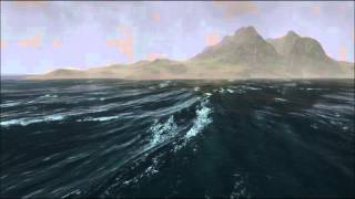 UniStorm 2.1.3 - Stormy Ocean with Ceto (HD 60 fps) - For Unity3d
