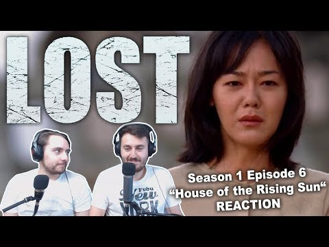 """Lost Season 1 Episode 6 """"House of the Rising Sun"""" REACTION"""