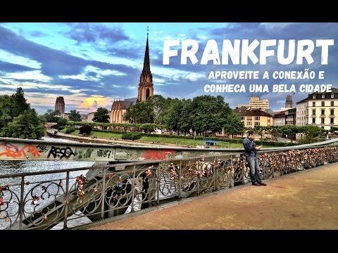 Frankfurt, aproveite sua conexão e conheça uma bela cidade