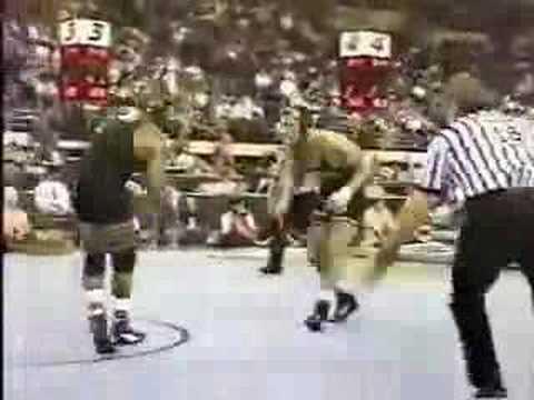 1998 NCAA: Joe Williams (Iowa) vs Jeff Catrabone (Michigan)