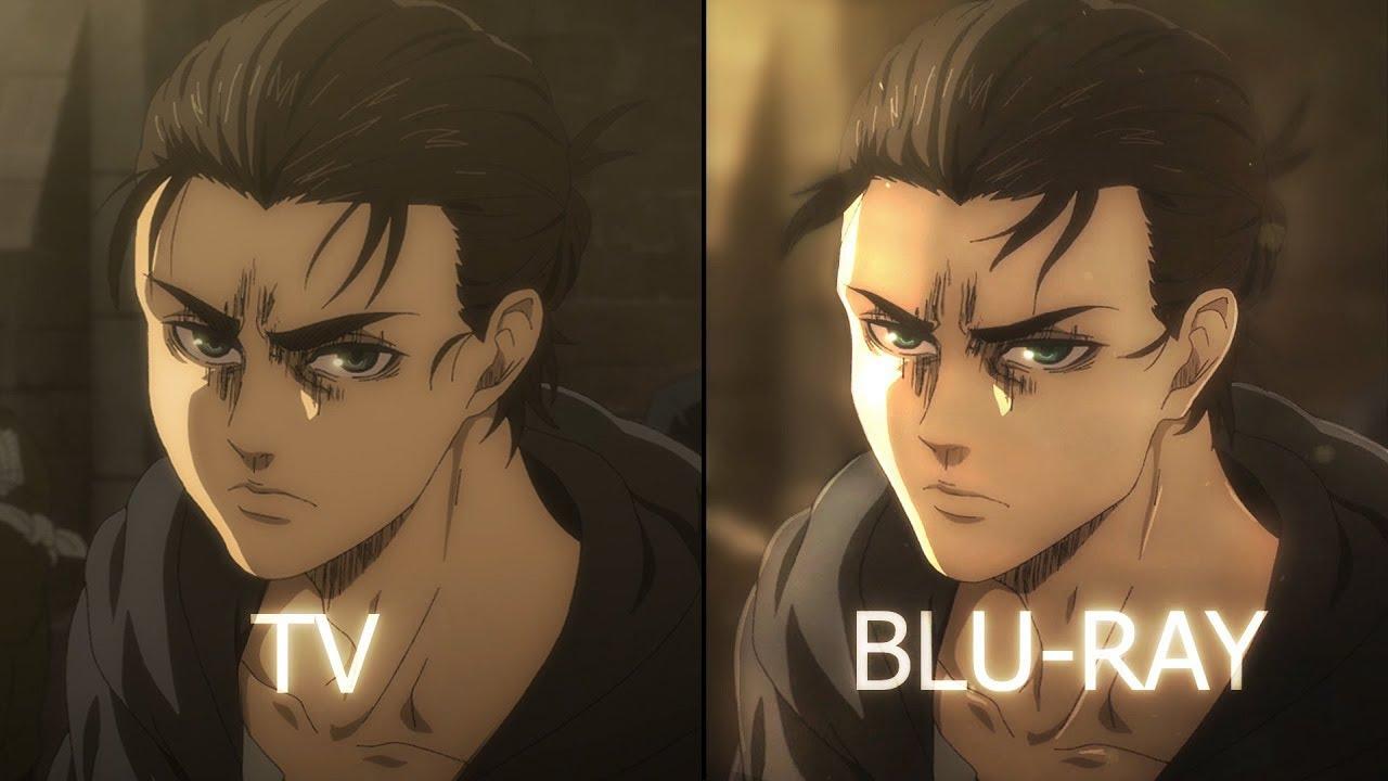 Download TV vs Blu Ray (Eren vs Marley) comparison Attack on Titan Fan Made