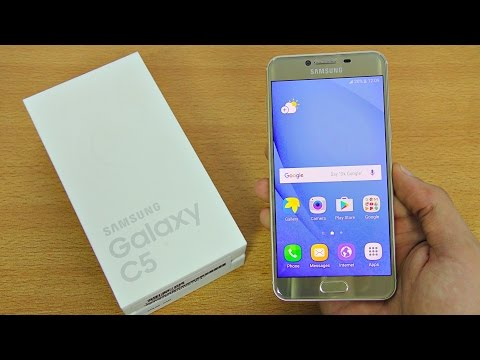 Samsung Galaxy C5 - Unboxing, Setup & First Look! (4K)