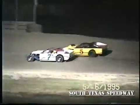 Texas Dirt | IMCA Modifieds | South Texas Speedway | May 6 , 1995