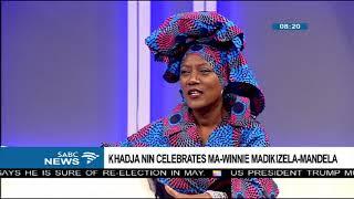 Khadja Nin celebrates mama Winnie