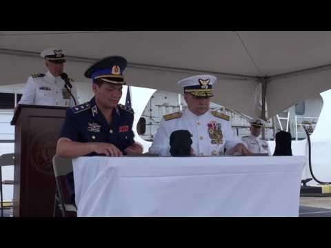 Hamilton-class cutter transferred to Vietnam coast guard