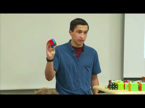 GRCC Math Seminar: God's Algorithm: A Simple Solution for the Rubik's Cube