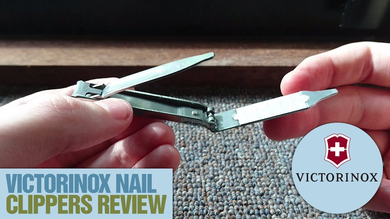 Victorinox Nail Clippers Review - YouTube