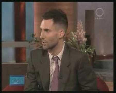 Ellen Degeneres Show Maroon 5 interview