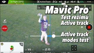 Mavic Pro - test režimů Active track