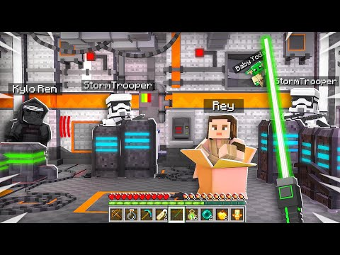 How to Play as Baby Yoda in Minecraft! (Star Wars Hide and Seek)