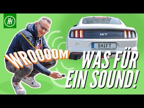 Was Für Ein Sound!! | Ford Mustang | Neue Auspuffanlage Mit E-Prüfzeichen