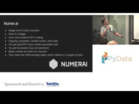 Andrew Kreimer  | Introduction to Algorithmic Trading | PyData Tel Aviv Meetup