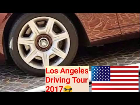 Los Angeles Driving Tour: Sunday in LA & Beverly Hills, Merlin Monroe in The Four Seasons