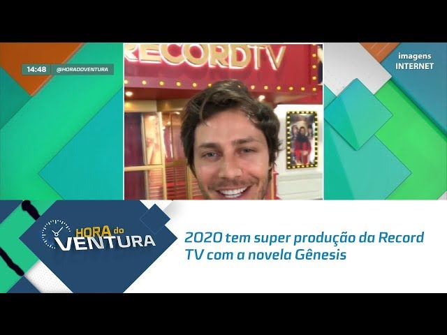2020 tem super produção da Record TV com a novela Gênesis - Bloco 02