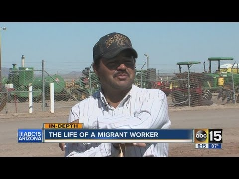 Inside the daily life of a migrant worker in Arizona