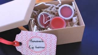 Diy Lip Butter Balm - Natural Homemade Gift Ideas