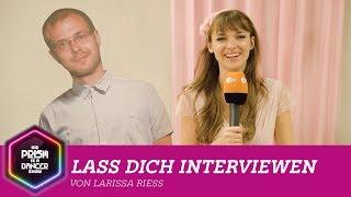 Lass dich interviewen von Larissa Rieß | Die PRISM Is A Dancer Show mit Jan Böhmermann