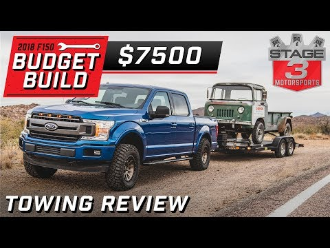 Tuned 2018 Ford F150 5.0L Towing Review