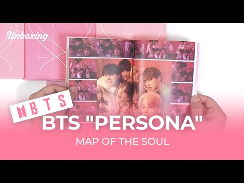 "Unboxing & Giveaway BTS ""PERSONA"" Map of the SOUL 防弾少年団 방탄소년단, 언박싱 Kpop Ktown4u"