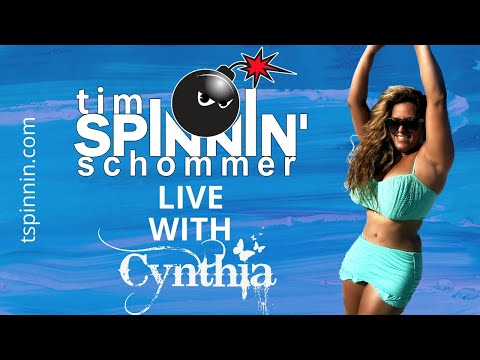 Cynthia on the Tim Spinnin Schommer Show