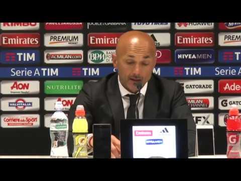 """Conferenza di Spalletti post Milan-Roma: """"Pjanic e Nainggolan stanno bene a Roma"""""""