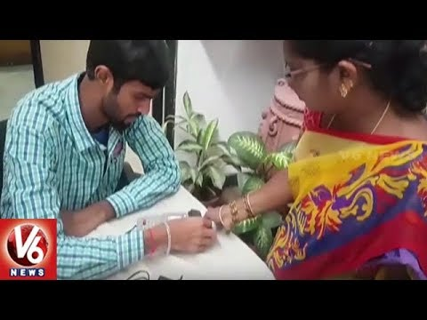GHMC Introduce Biometric Attemdance System In Head Office | Hyderabad | V6 News