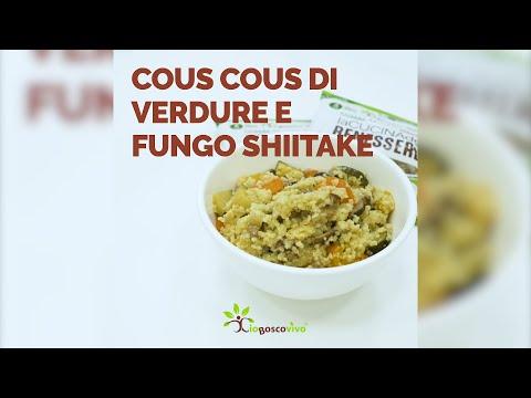 Cous cous di verdure e fungo Shiitake - IoBoscoVivo