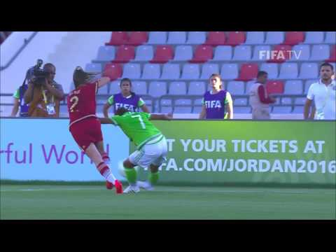 Match 18: Spain v Mexico - FIFA U-17 Women's World Cup 2016