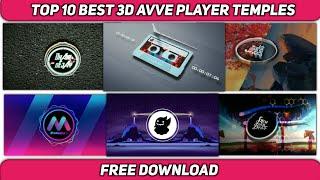 Top 10 3d Avve player template (Download link in the description)