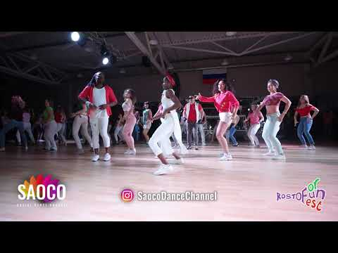 Salsa Cuban Bootcamp By Chichi & Annelys At The Rostov For Fun Fest 2018