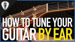 how to tune your guitar by ear - free guitar lessons
