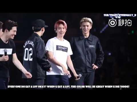 [ENG SUB] 151017 EXO'luxion in Guangzhou - Baekhyun MENT (ft ABS)