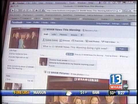 RIT on TV News: Facebook Friday (segment 2)