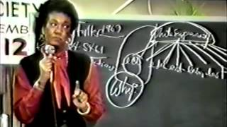 Dr. Frances Cress Welsing: The Isis Papers