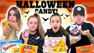 LAST TO STOP EATING HALLOWEEN CANDY!!