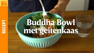 Buddha Bowl Met Geitenkaas