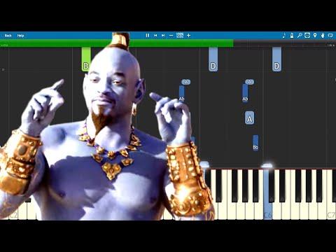 Disney's Aladdin Piano Medley - Piano Tutorial - Official Trailer Music thumbnail