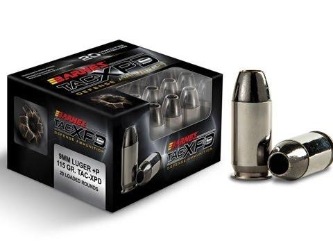 Barnes TAC XPD Ammunition  Shot  2013