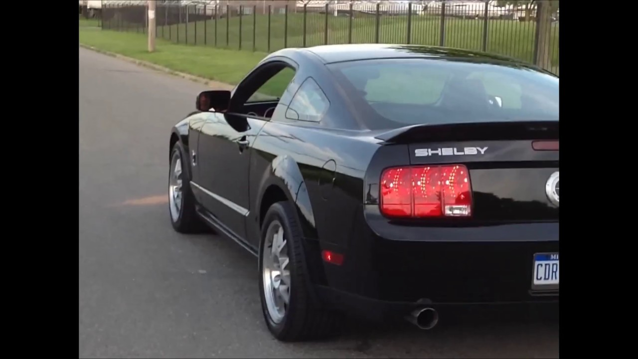 2007 Ford Mustang Shelby GT500 Cobra - YouTube