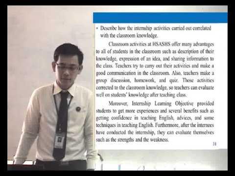Internship Report Presentation (full)avi - YouTube