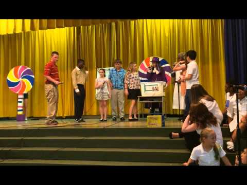 Stephen  Decatur School play  Willy Wonka and Choclate Factory 2015