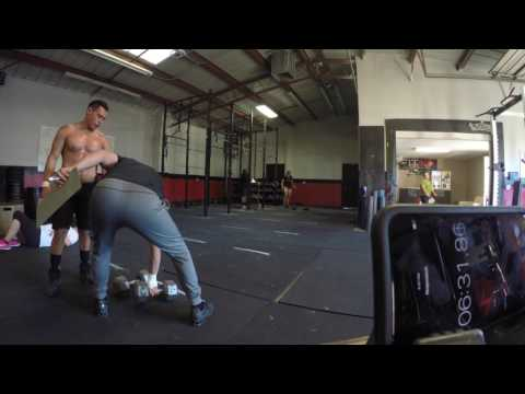 CrossFit Opens 17.2 Anthony Gonzalez