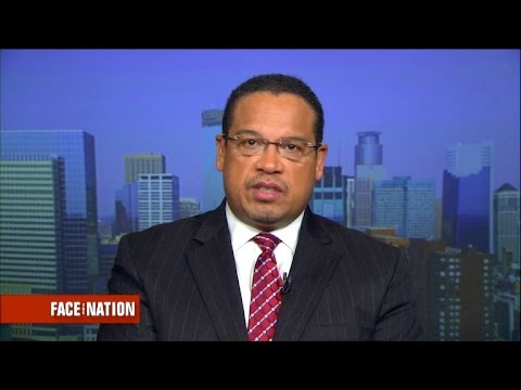 "Rep. Keith Ellison says President Trump ""cannot deny"" this is a Muslim ban"
