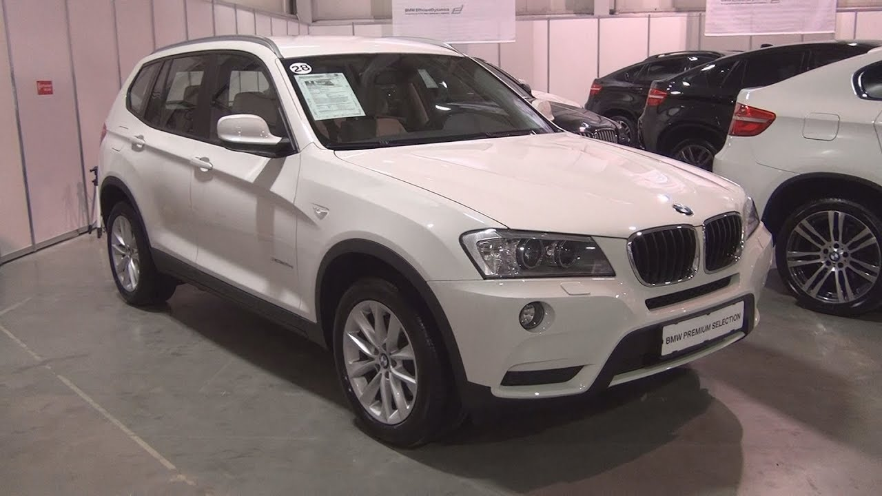 BMW X3 XDrive 20d (2013) Exterior And Interior